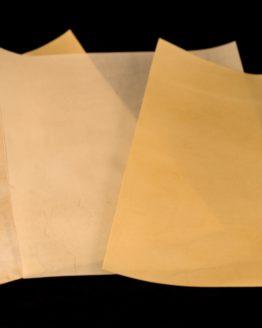 Pergament Zuschnitte Kalb hell